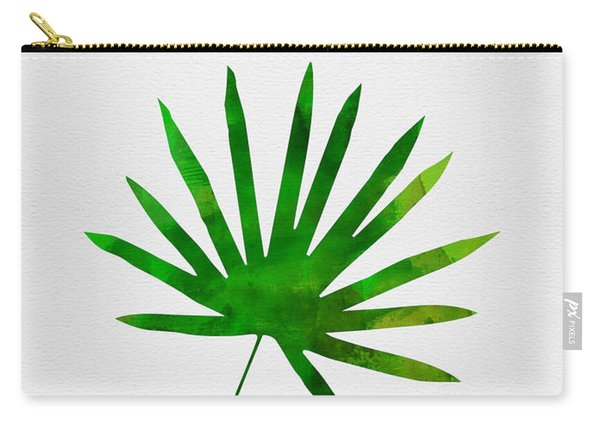 Tropical Chamaerops Leaf I Carry-all Pouch