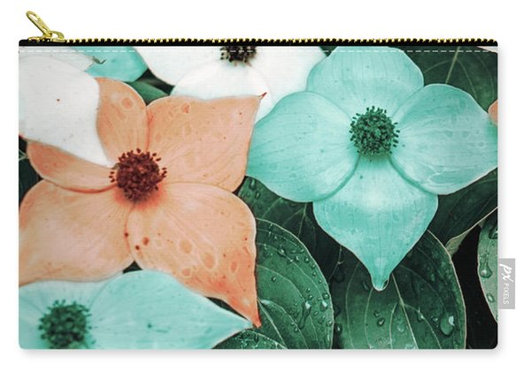 Tropical Dogwood Flowers Carry-all Pouch