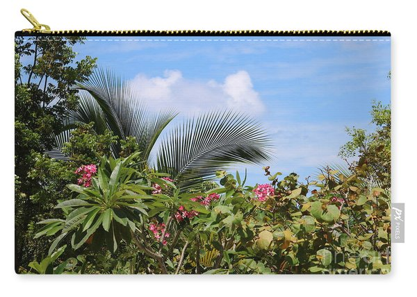 Tropical Flair Carry-all Pouch