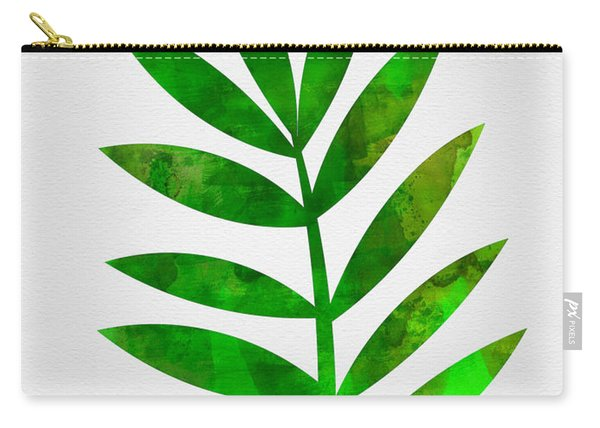 Tropical Leaf 3 Carry-all Pouch