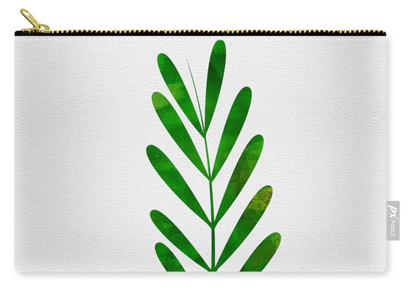 Tropical Leaf II Carry-all Pouch
