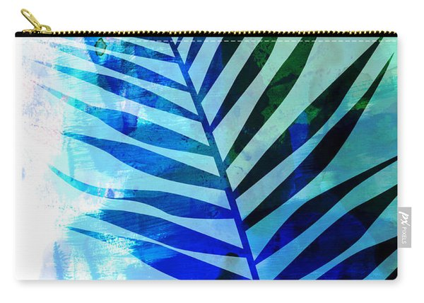 Tropical Leaf Watercolor I Carry-all Pouch