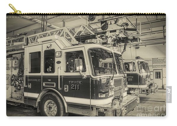 Truck And Engine 211 Carry-all Pouch