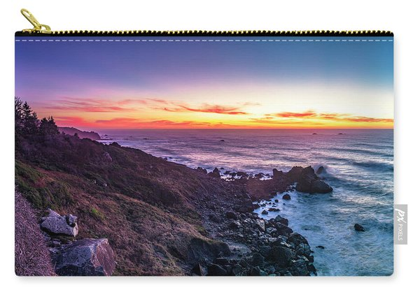 True Love By The Solstice Sunset Carry-all Pouch