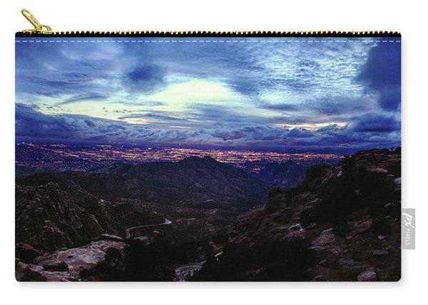 Tucson Twilight Panorama Carry-all Pouch