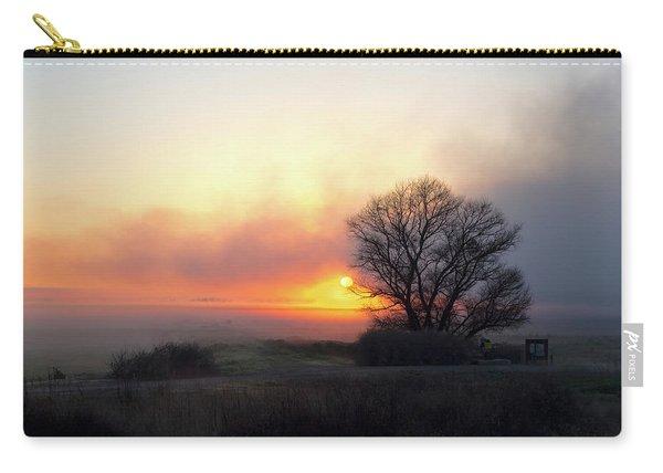 Tule Fog Sunrise  Carry-all Pouch