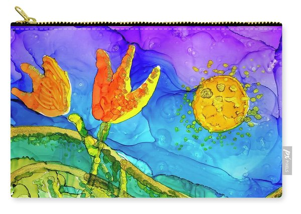 Tulip Hugs Carry-all Pouch