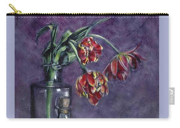 Tulips And Oranges Carry-all Pouch