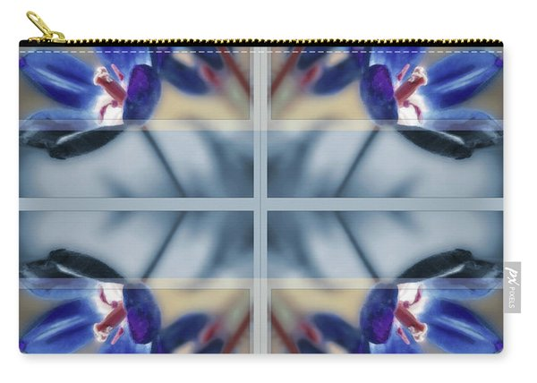 Tulips Of Stained Glass Carry-all Pouch