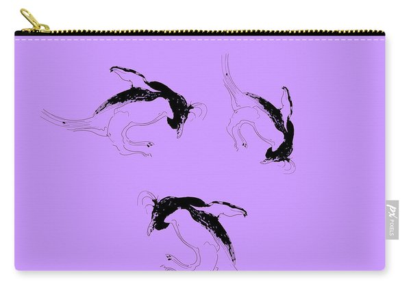 Tumbling Penguins Carry-all Pouch