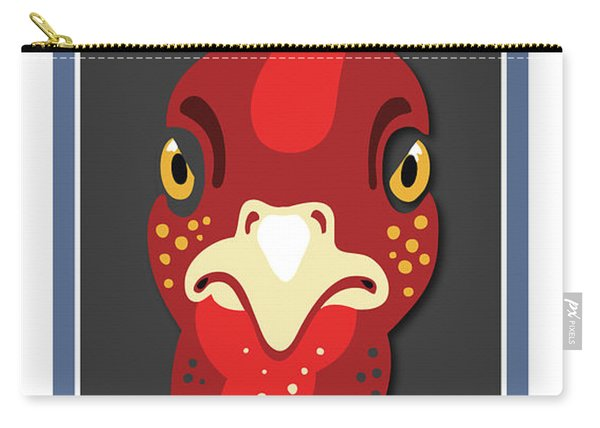 Turkey Stare Jp Carry-all Pouch