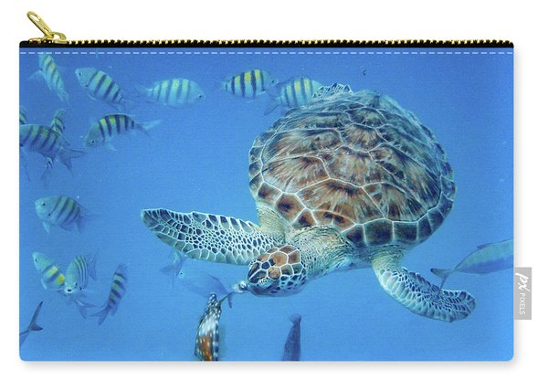 Turning Turtle Carry-all Pouch