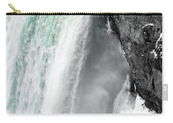 Turquoise Falls Carry-all Pouch