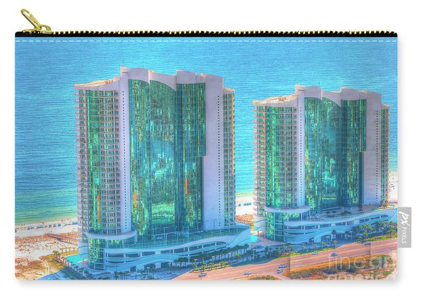 Turquoise Place Carry-all Pouch