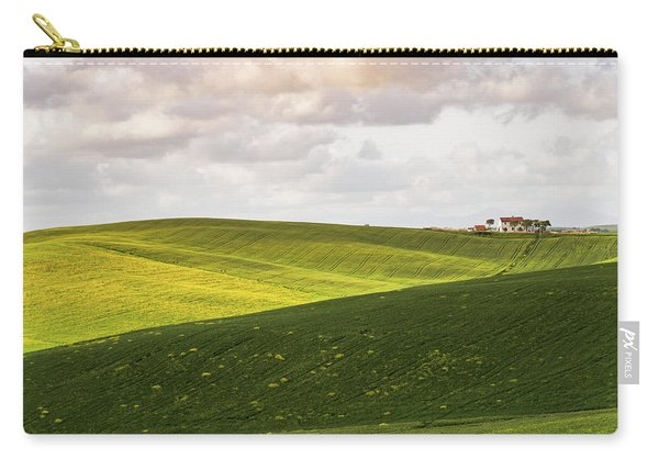 Tuscan Landscapes. Hills In The Spring Carry-all Pouch