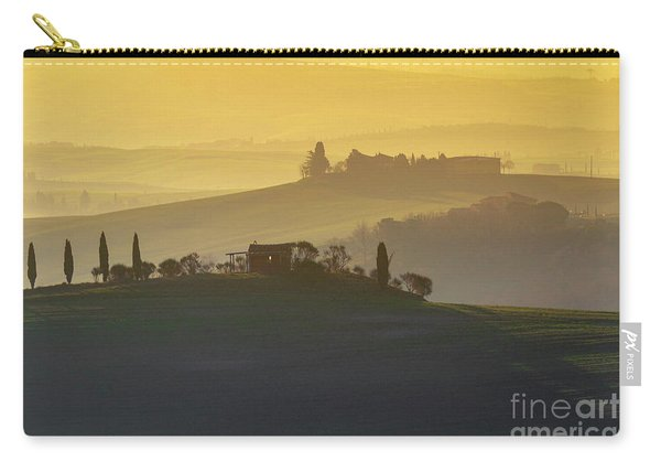 Tuscan Rolling Farmland Carry-all Pouch