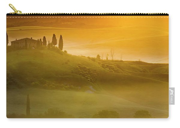 Tuscany In Gold Carry-all Pouch