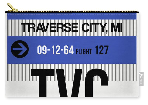 Tvc Traverse City Luggage Tag I Carry-all Pouch