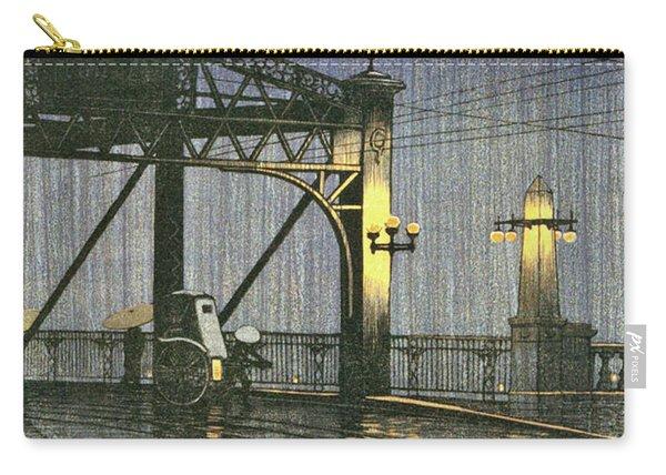 Twenty Views Of Tokyo, Shinohashi Bridge - Digital Remastered Edition Carry-all Pouch