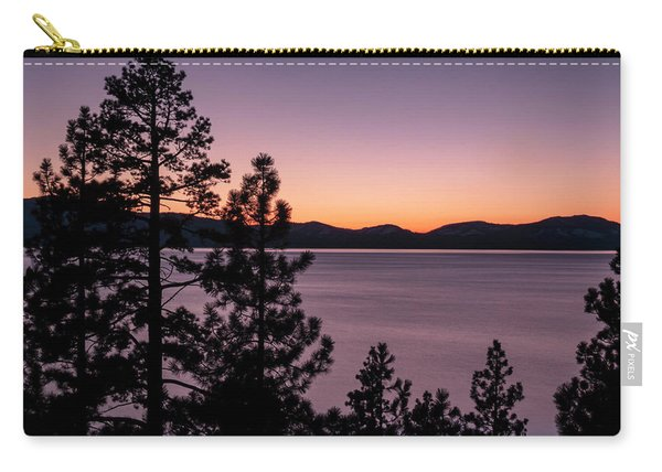 Twilight At Lake Tahoe Carry-all Pouch