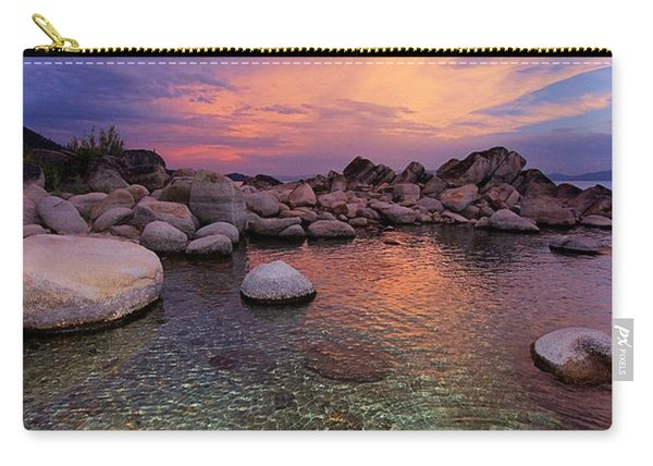 Carry-all Pouch featuring the photograph Twilight Canvas  by Sean Sarsfield