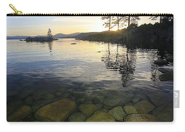 Carry-all Pouch featuring the photograph Twilight Immersion by Sean Sarsfield