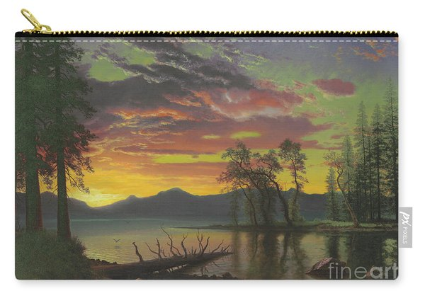 Twilight, Lake Tahoe Carry-all Pouch