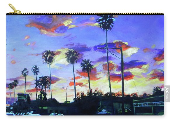 Twilight At Figueroa And 40th  Carry-all Pouch