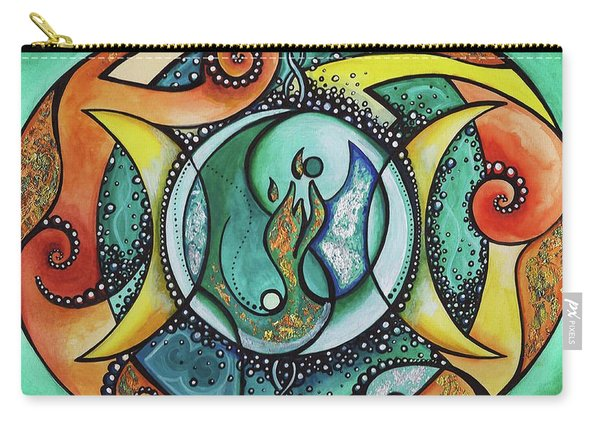 Twin Flame Carry-All Pouches | Fine Art America