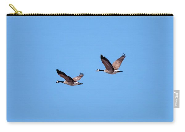 Two Canadian Geese Carry-all Pouch