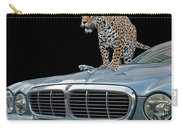 Two Jaguars 1 Carry-all Pouch