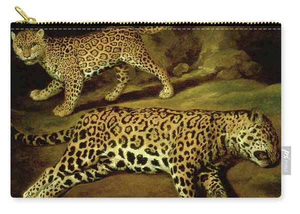 Two Jaguars Carry-all Pouch