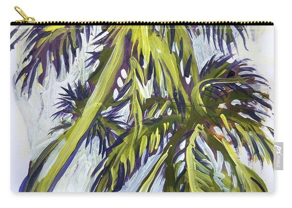 Two Palm Sketch Carry-all Pouch