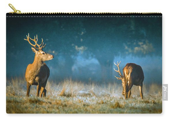 Two Stags Carry-all Pouch