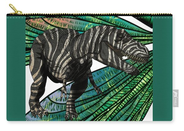 Tyrannosaurus Takes Wings Carry-all Pouch