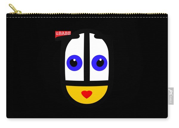 uBABE Black Carry-all Pouch