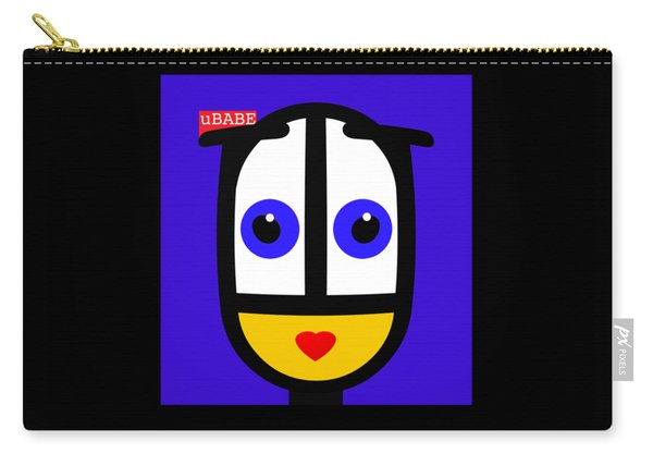 Ubabe Blue Carry-all Pouch