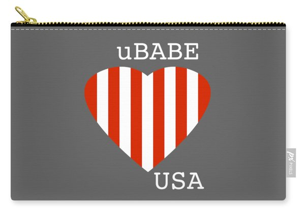 uBABE USA Carry-all Pouch
