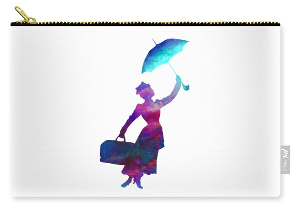 Umbrella Lady Carry-all Pouch