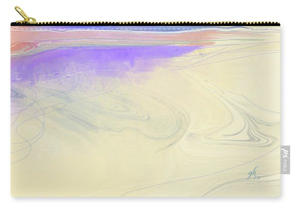 Carry-all Pouch featuring the digital art Unconventional by Gina Harrison