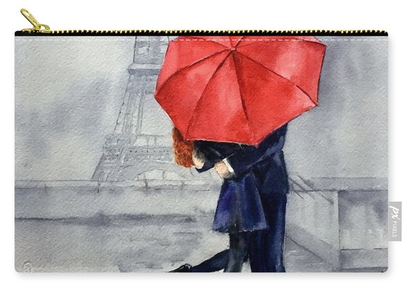 Under A Red Umbrella Carry-all Pouch