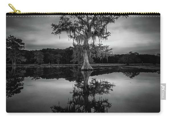 Under The Moonlit Sky Of Caddo Lake Carry-all Pouch