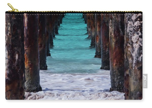 Under The Pier #3 Opf Carry-all Pouch