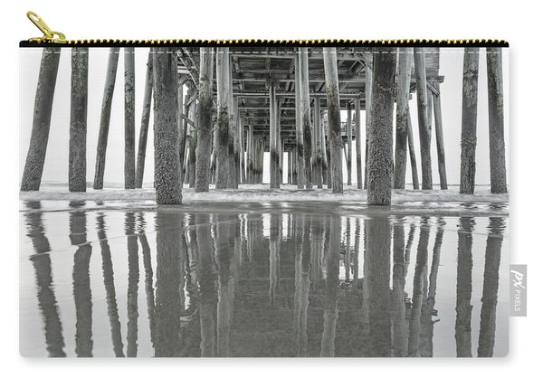 Under The Pier Sunrise Classic Carry-all Pouch