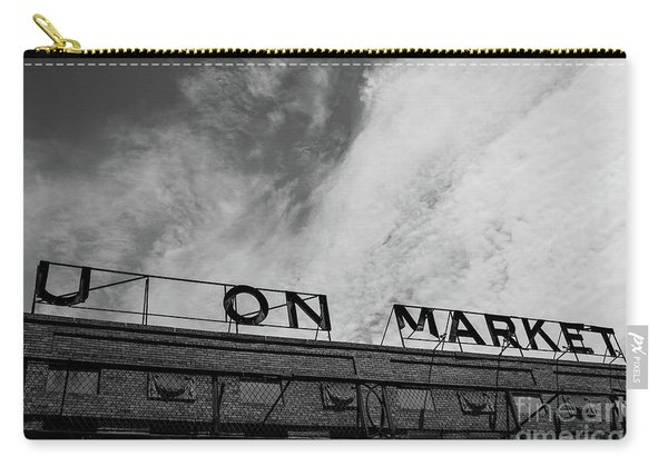 Union Market The Original Sign Washington Dc Carry-all Pouch