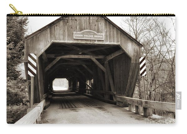 Union Village Covered Bridge Carry-all Pouch