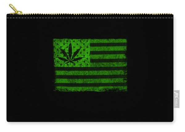 United States Of Cannabis Carry-all Pouch