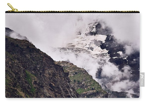 Carry-all Pouch featuring the photograph Up In The Clouds by Whitney Goodey