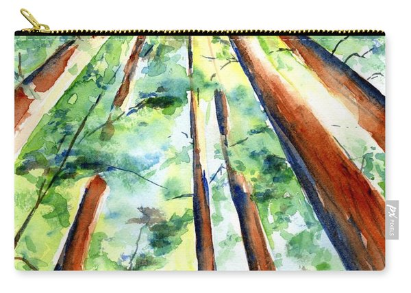 Up Through The Redwoods Carry-all Pouch