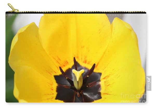 Uplifting Yellow Tulip Carry-all Pouch